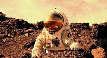 رائد فضاء على المريخ
